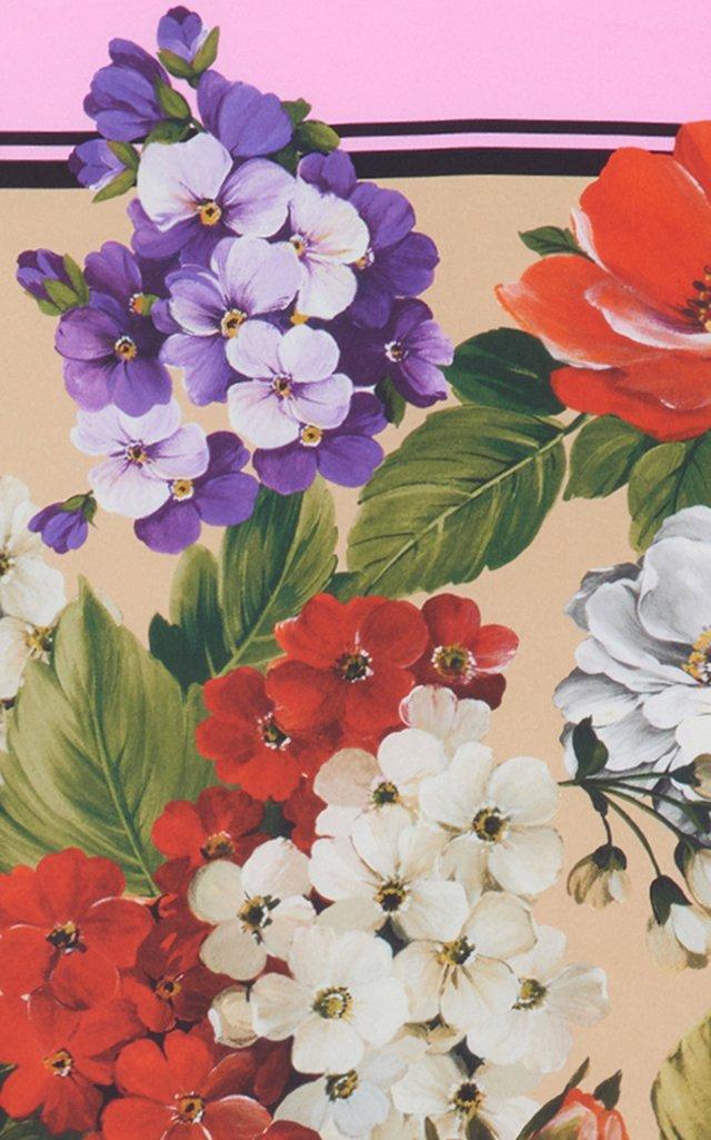 Flori Printed Silk Scarf