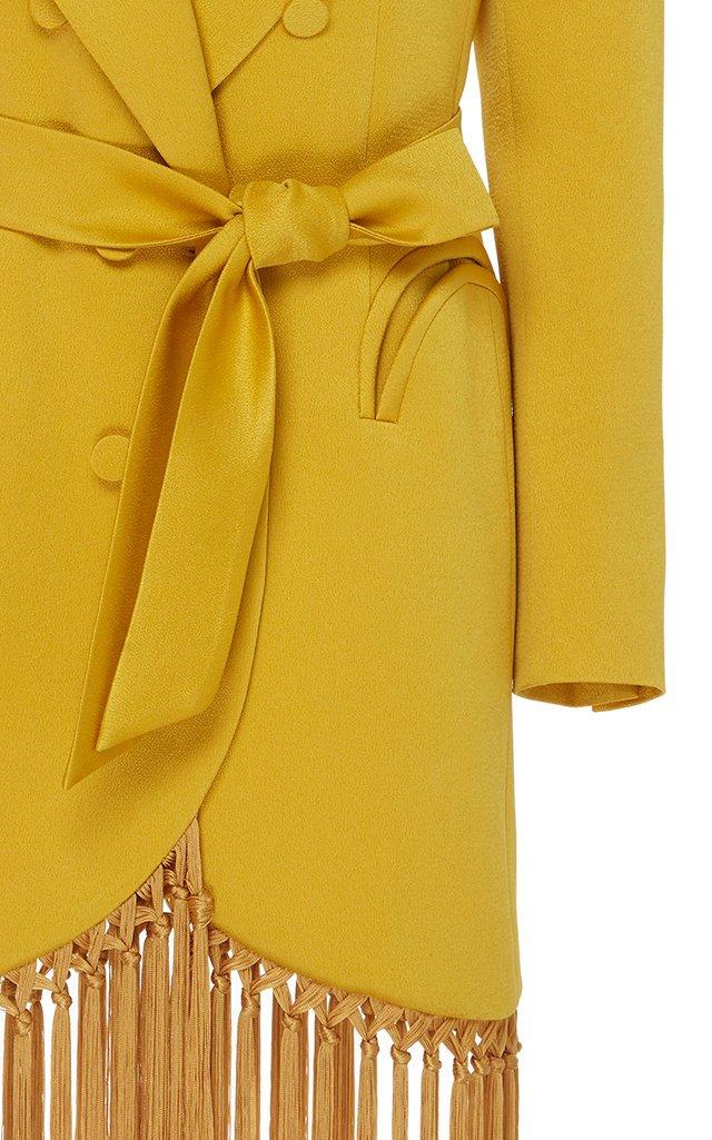Novalis Fringed Blazer Dress