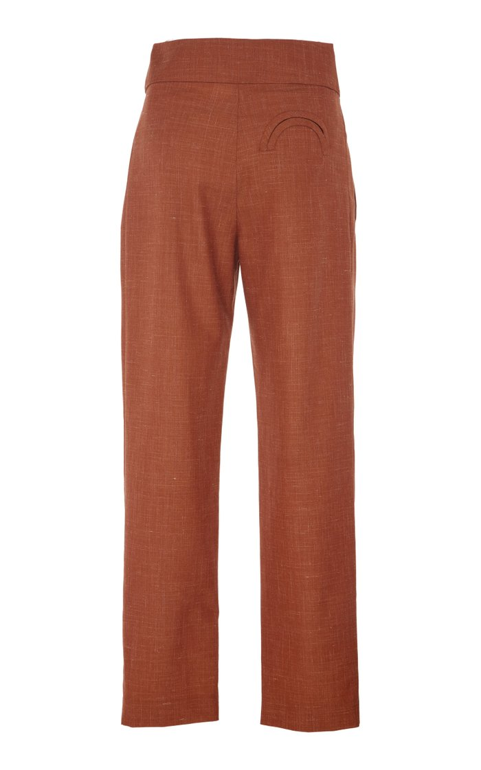 Sommers Basque Wool-Blend Trousers