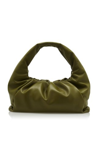 The Small Shoulder Pouch Leather Bag