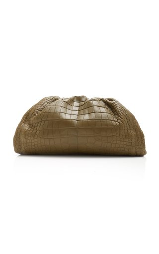 The Pouch Alligator Leather Clutch