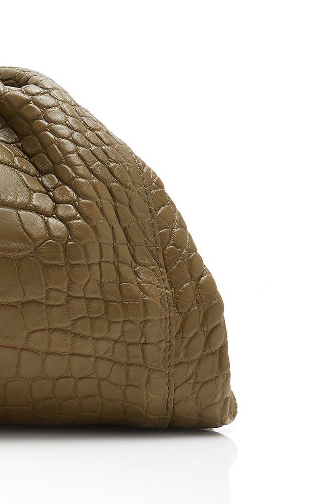 Large Cloud Alligator Clutch