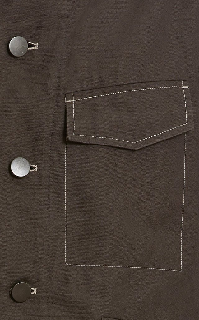 Cotton-Linen Field Jacket
