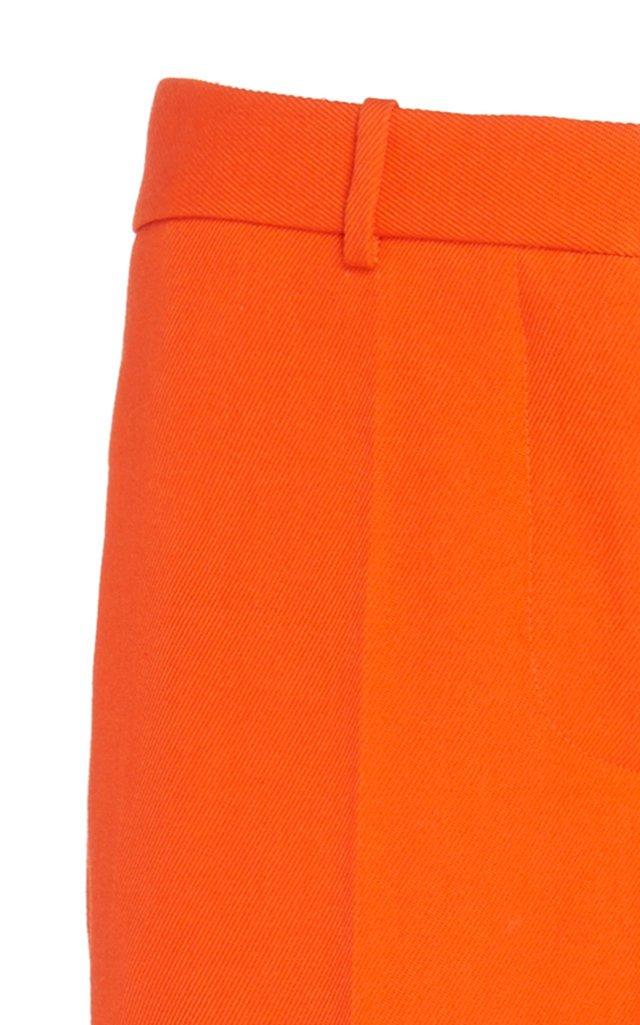 Wool Wide-Leg Trouser