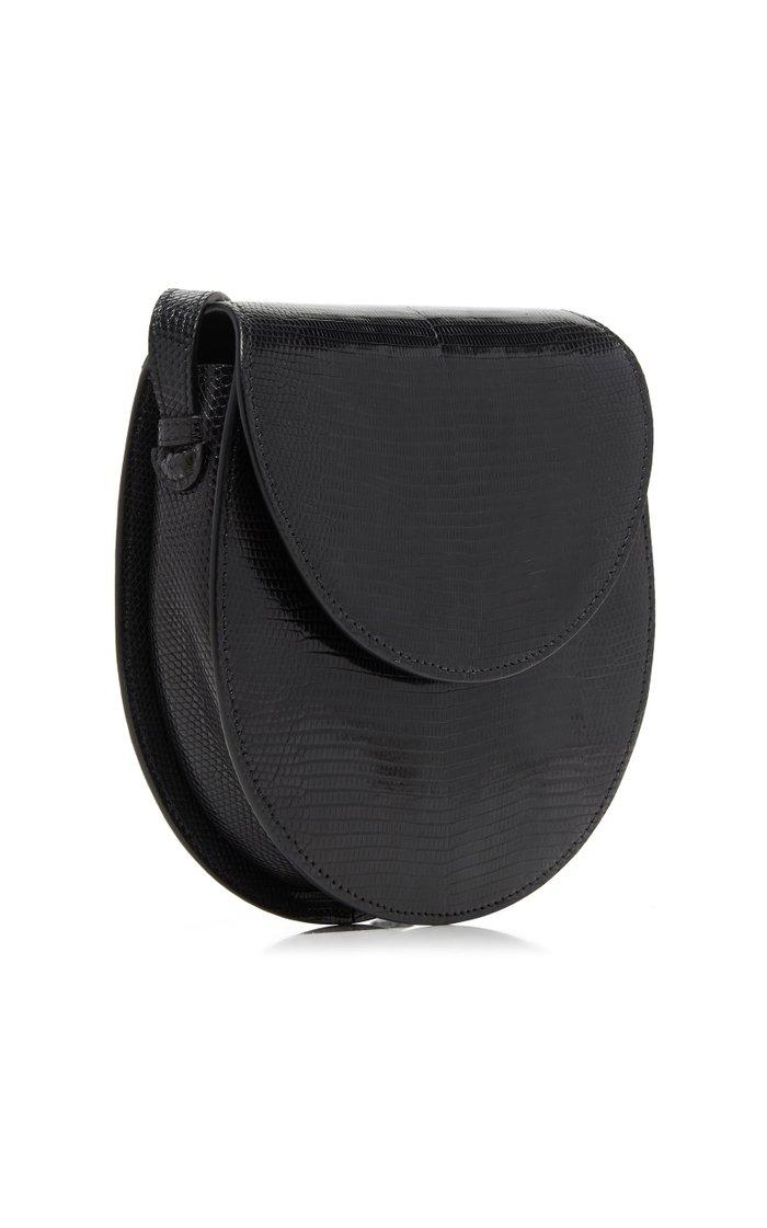 The Saddle Lizard Shoulder Bag