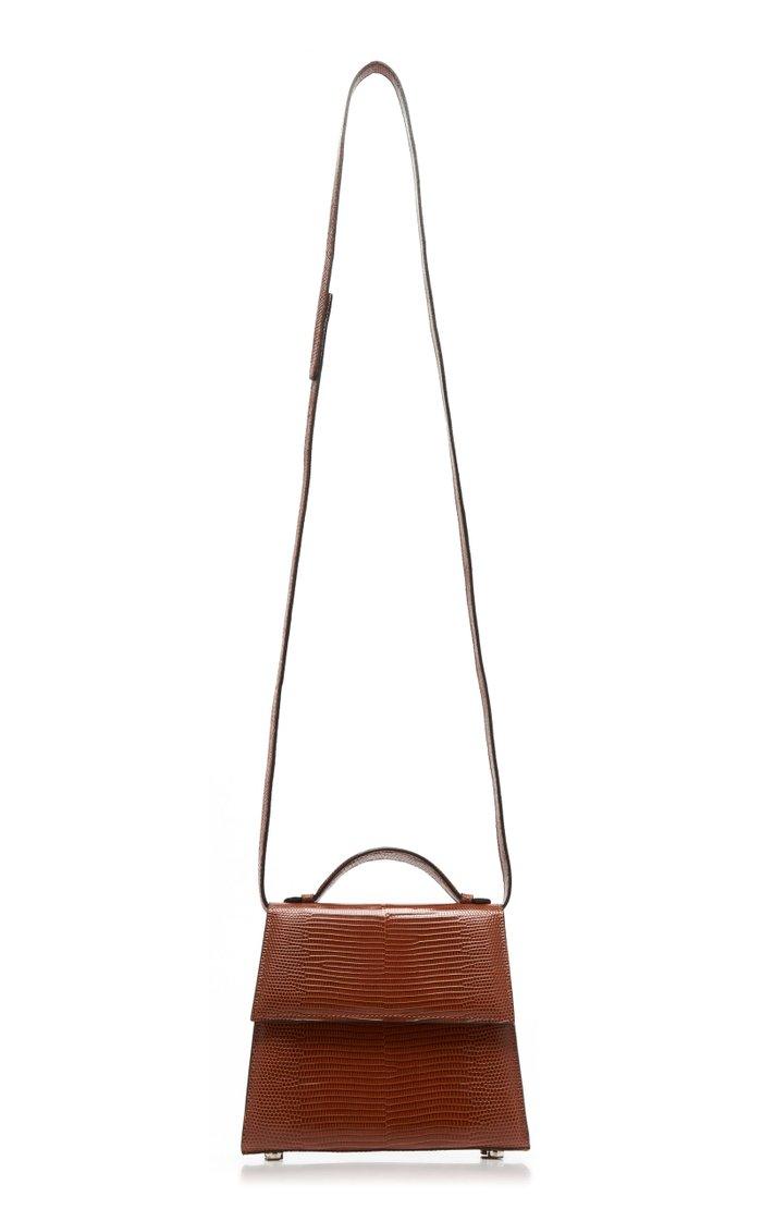 Small Lizard Top Handle Bag
