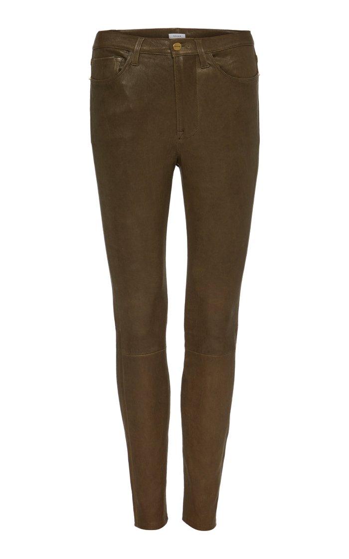 Le High Coated High-Rise Skinny Jeans