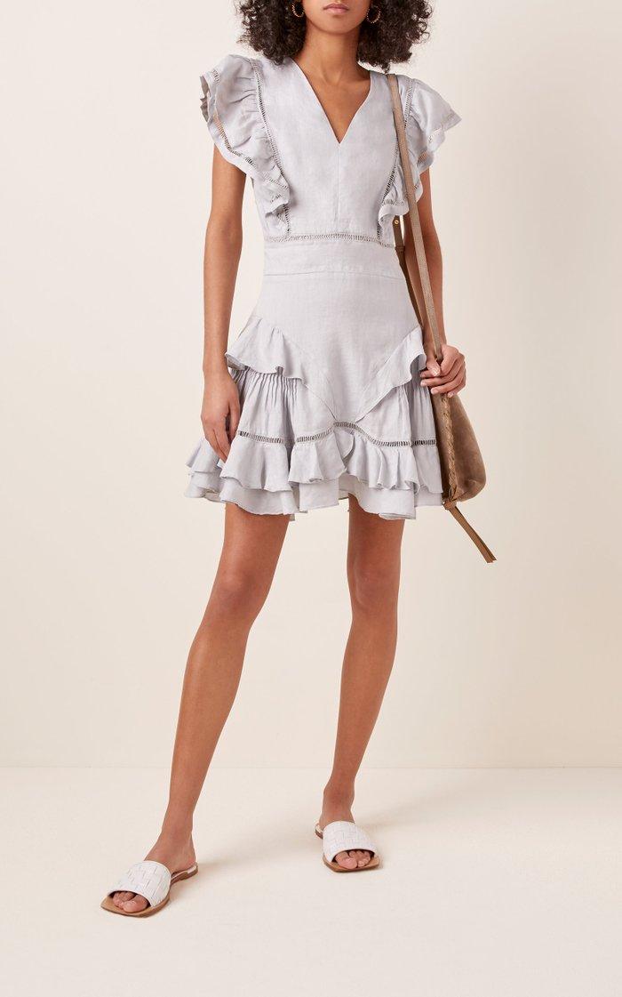 Audrey Linen Dress