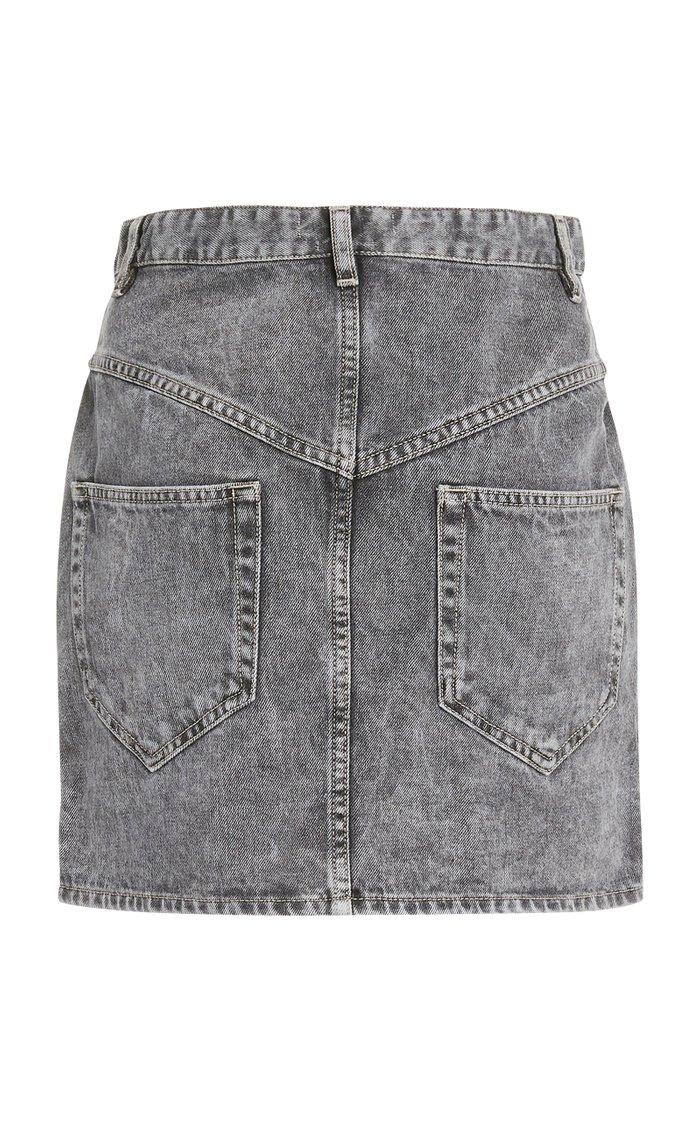Hondo Denim Mini Skirt