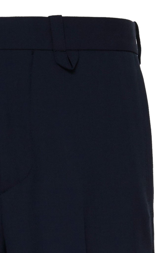 Public Stretch-Wool Straight-Leg Pants
