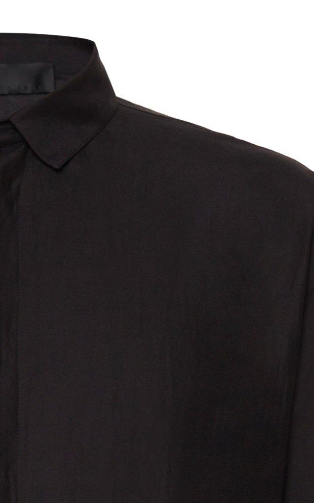 Cotton-Silk Kimono Top