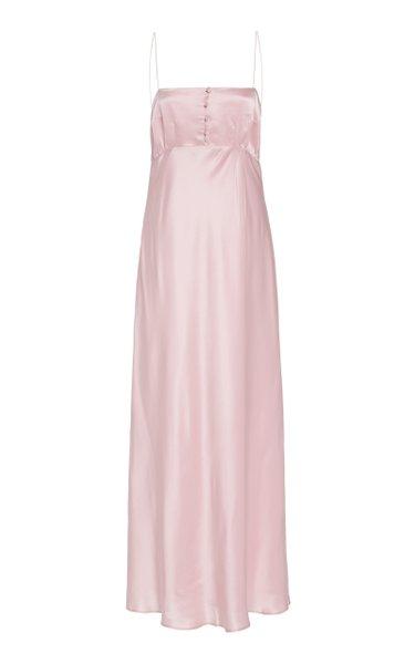 Florence Satin Silk Slip Dress