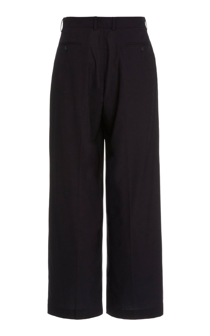 Quieto Cropped Wool Pants