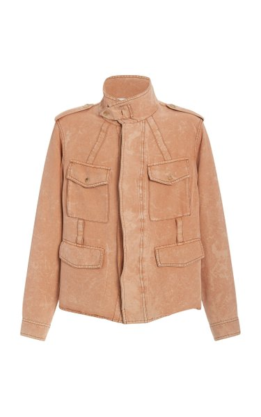 Quivers Woven Silk Jacket