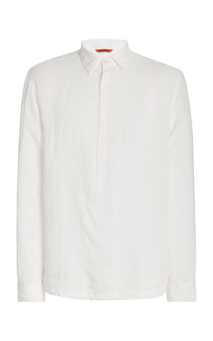 Pavan Telino Woven Pullover Shirt