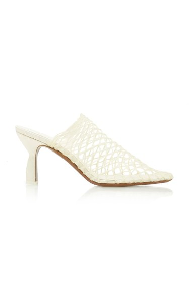 Bophy Mesh Leather Mules