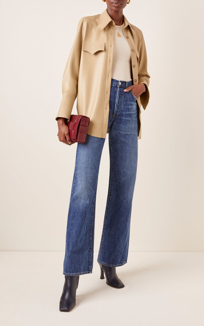 Annina Rigid High-Rise Bootcut Jean