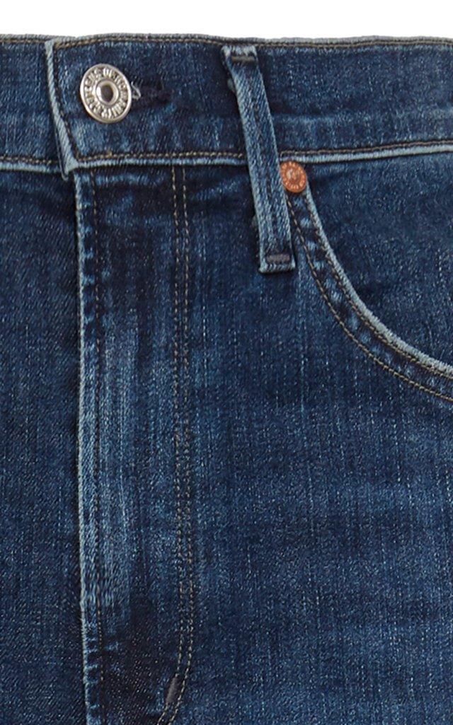 Chrissy Stretch High-Rise Skinny Jeans