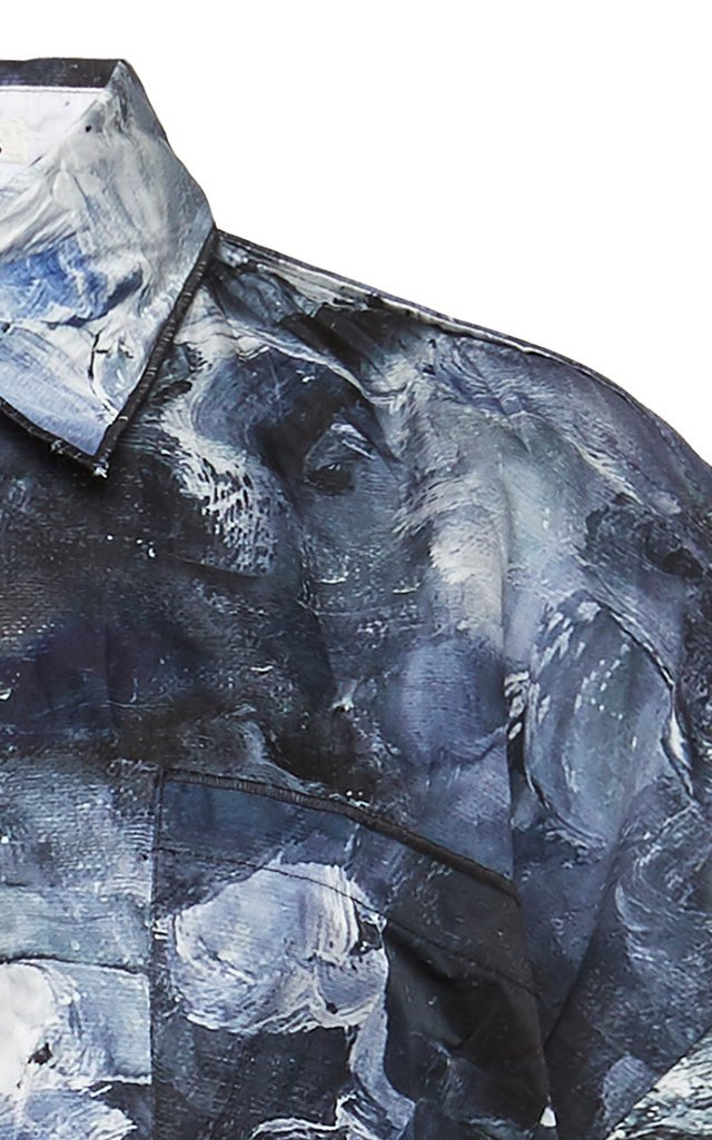 Sadira Painted Crinkled Shirt
