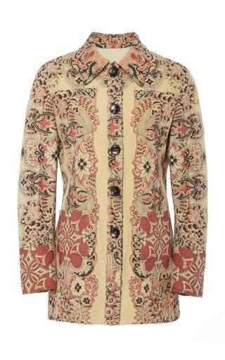 Patterned Neutra Jacket