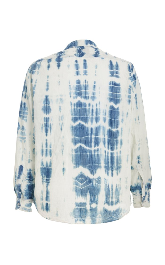 Lars Tie-Dye Cotton Shirt
