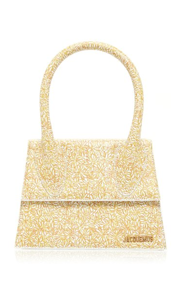Le Grand Chiquito Floral-Print Leather Bag