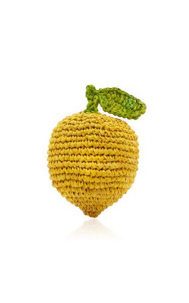 Le Citron Raffia Keychain