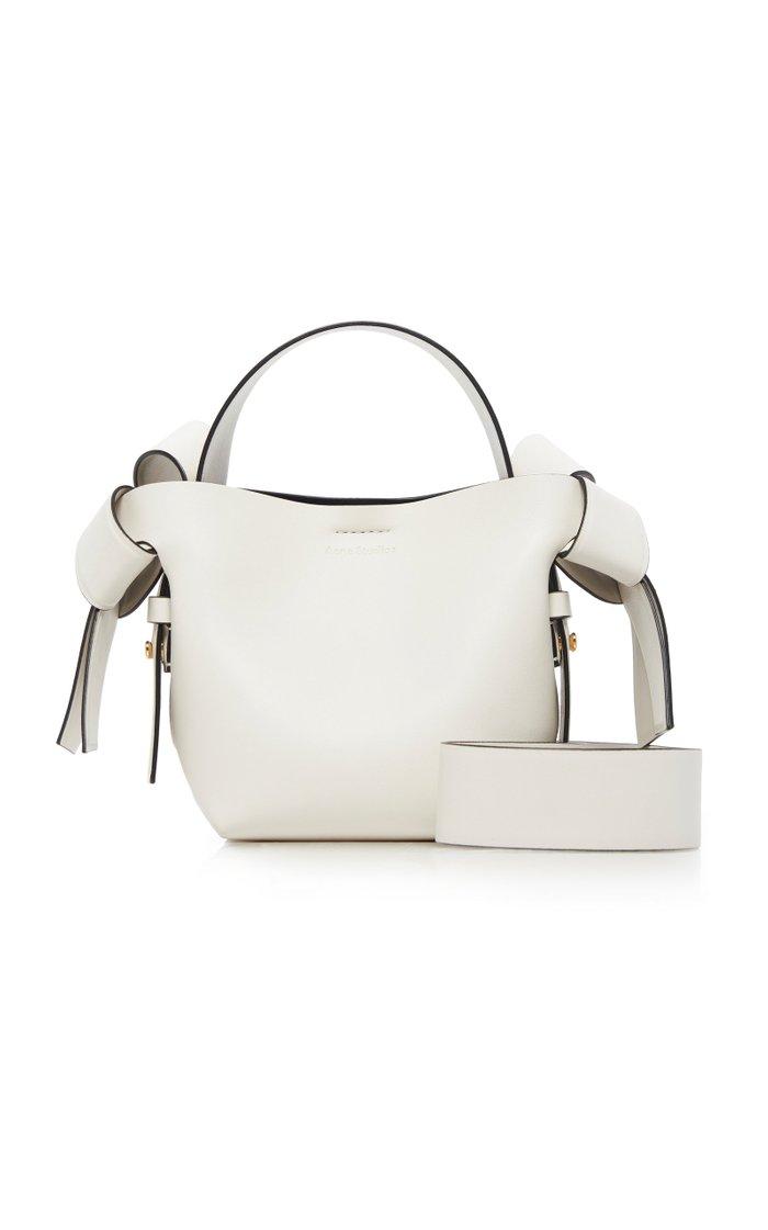 Musubi Micro Leather Shoulder Bag