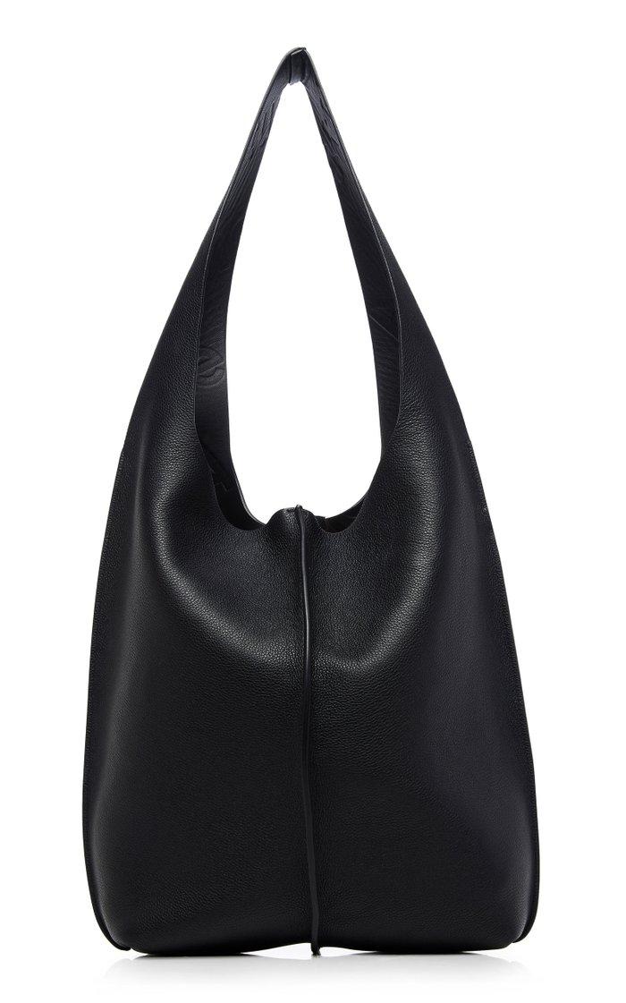 Relaxed Leather Shoulder Bag