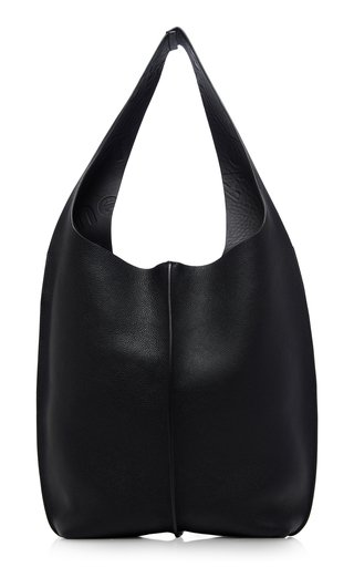 Relaxed Leather Shoulder Bag