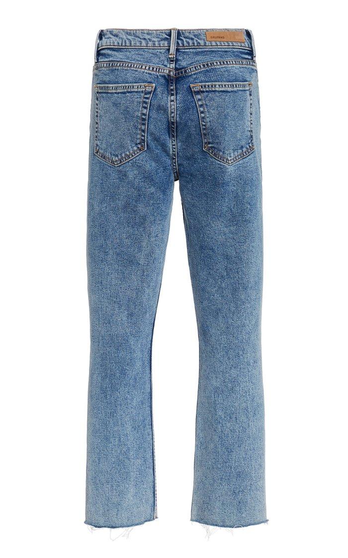 Reed High-Rise Comfort Stretch Slim-Leg Jeans