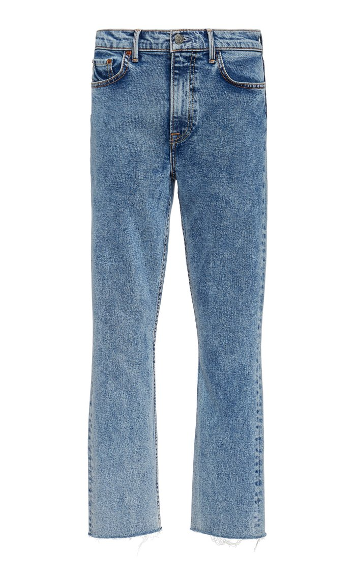 Reed High-Rise Comfort Stretch Slim-Leg Jeans