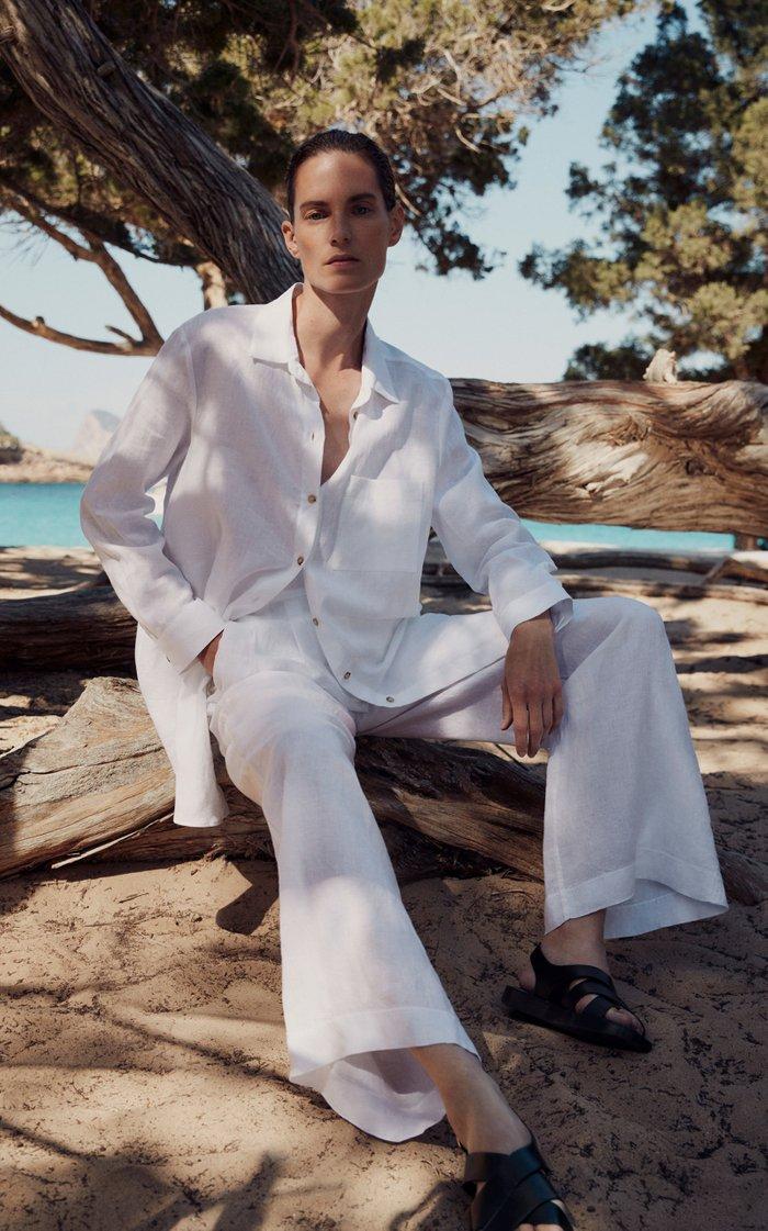 Formentera Oversized Linen Shirt