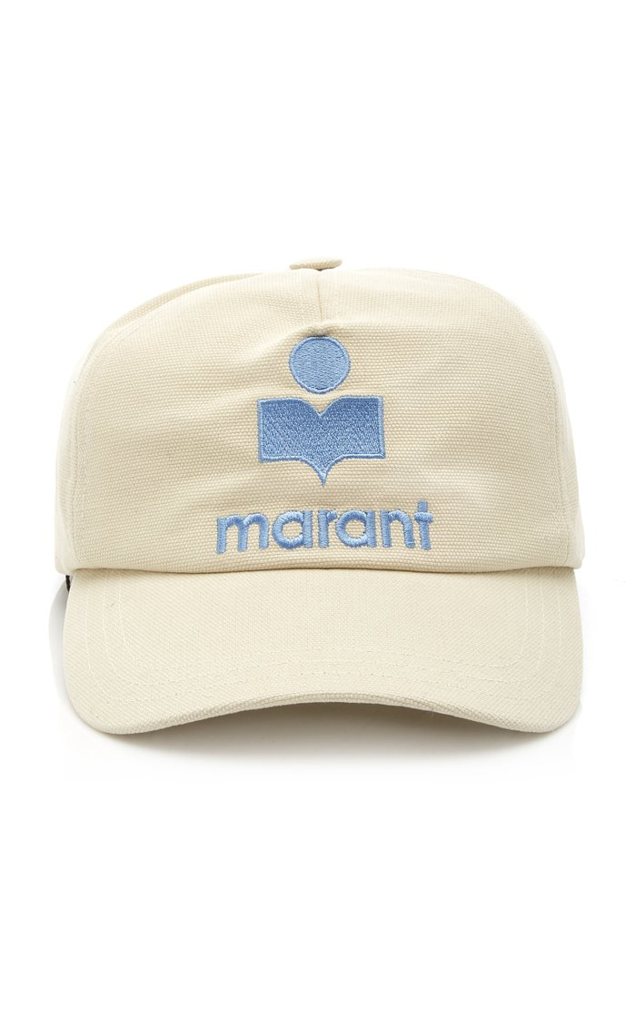 Tyron Logo-Embroidered Cotton Cap