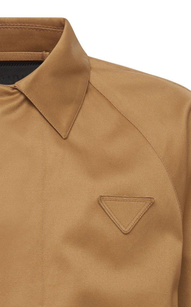 Logo-Appliquéd Cotton-Twill Jacket