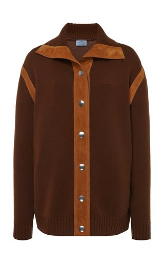Cashmere Button Down Top