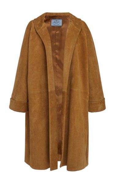 Suede Overcoat