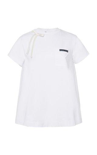 Embellished Cotton-Jersey T-Shirt