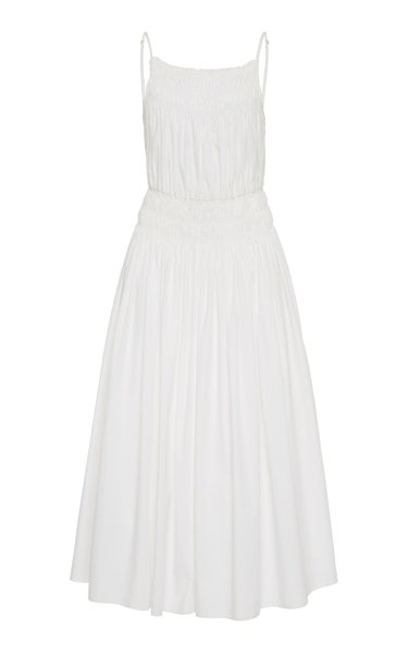 Dia Cotton-Poplin Midi Dress
