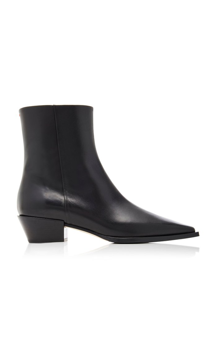 Ruby Leather Ankle Boots
