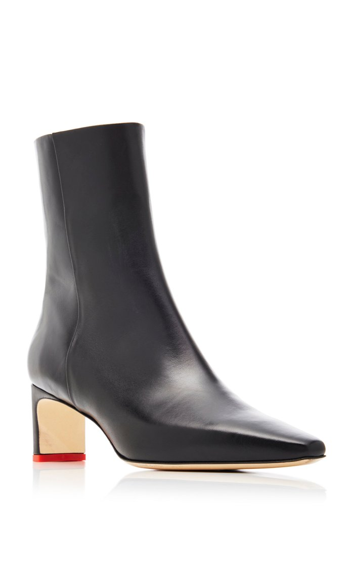 Ivy Calf Leather Boots