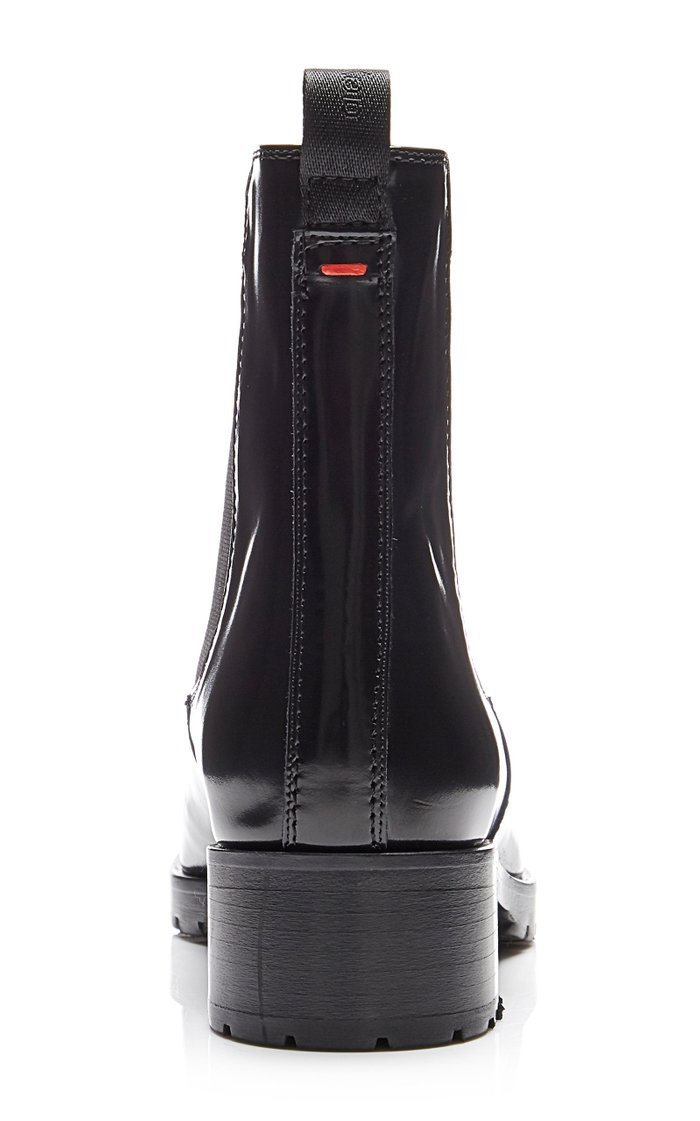 Karlo Leather Ankle Boots