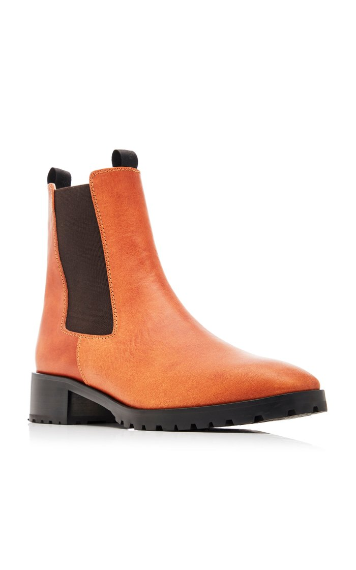 Karlo Leather Chelsea Boots