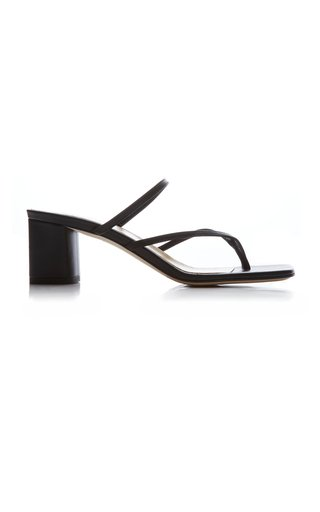Larissa Nappa Leather Sandals