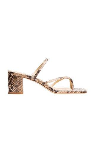 Larissa Calf Leather Sandals