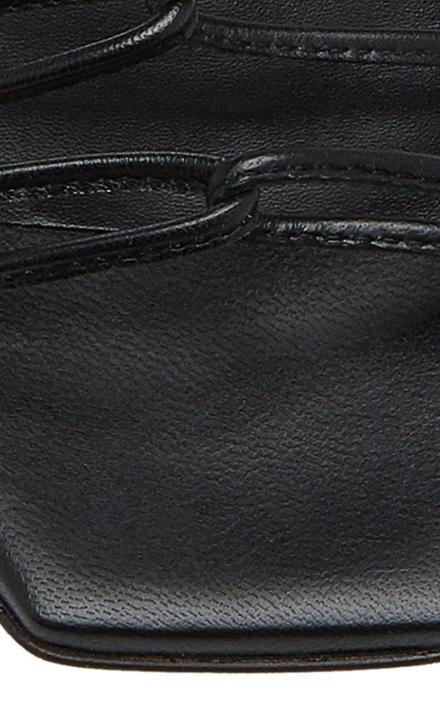 Natasha Metallic Leather Sandals