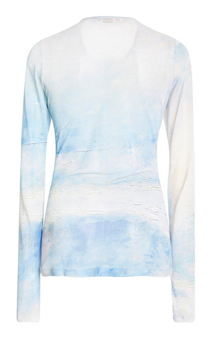 Estah Printed Jersey Shirt