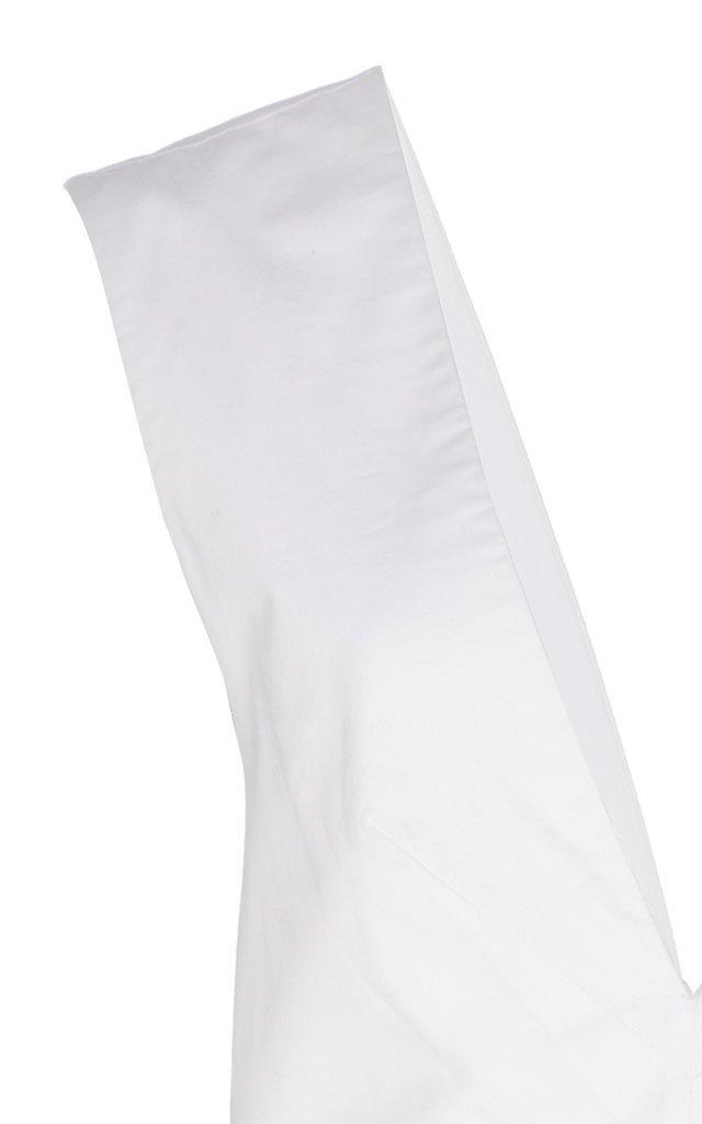 Lemuria Bow-Detailed Cotton-Poplin Playsuit