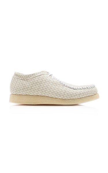 Inno Printed Cotton-Canvas Sneakers