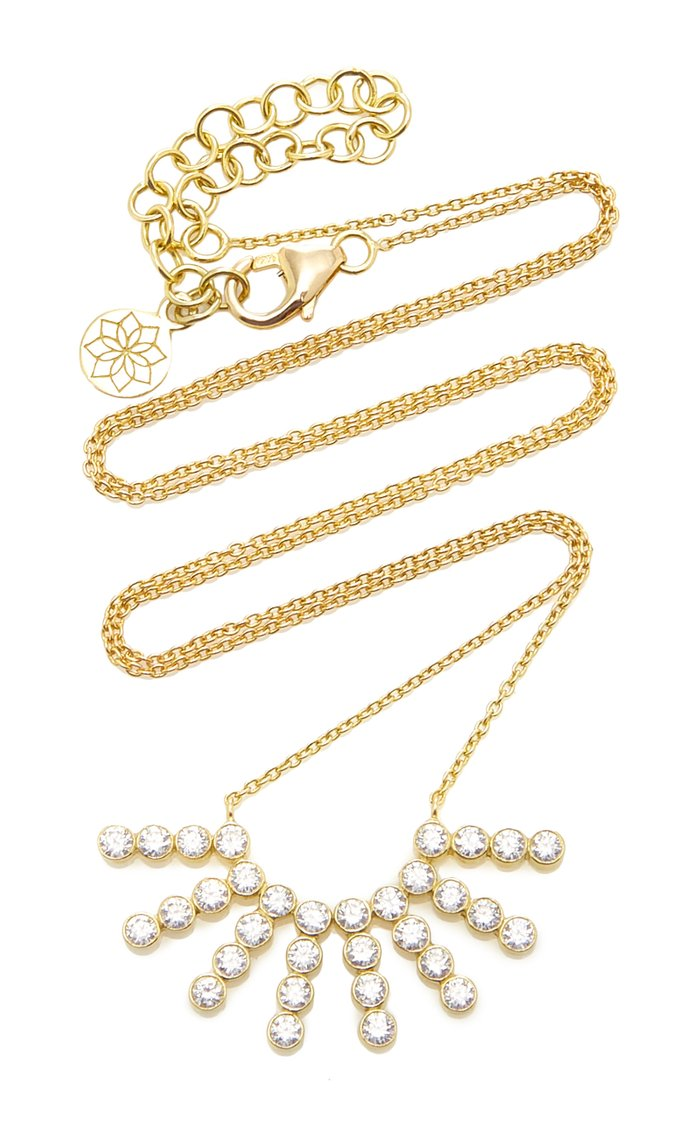 Tarakini 18K Gold And Diamond Necklace